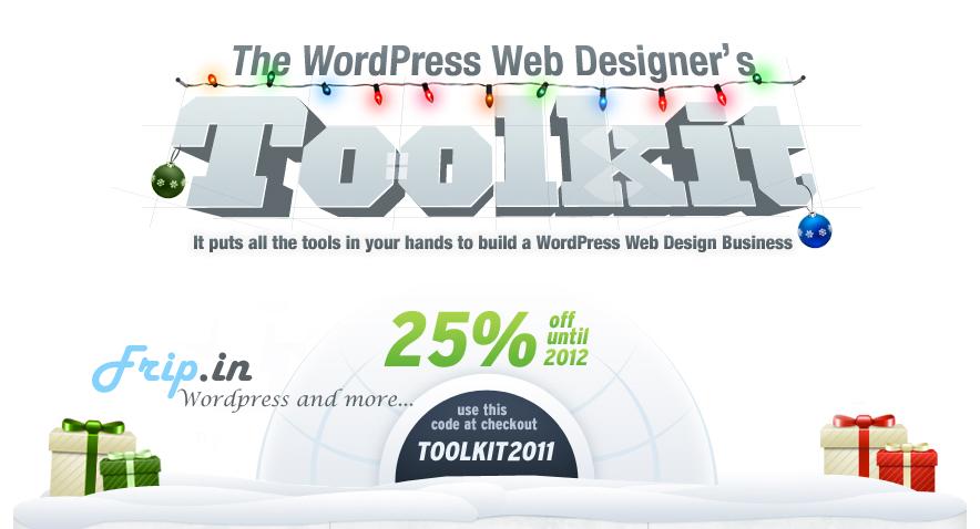 itheme wordpress  web design toolkit 2011 offer