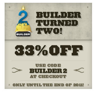 iTheme builder 33% OFF