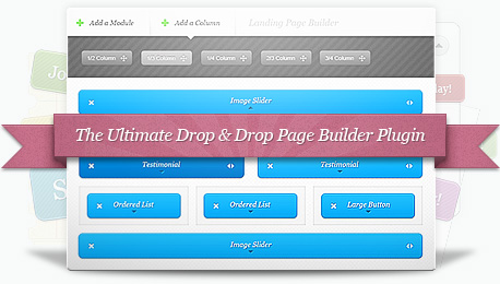 Elegant theme drag and drop builder plugin