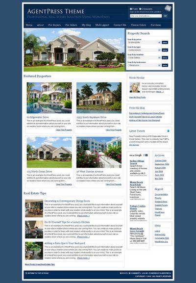 AgentPress - Real Estate WordPress Theme