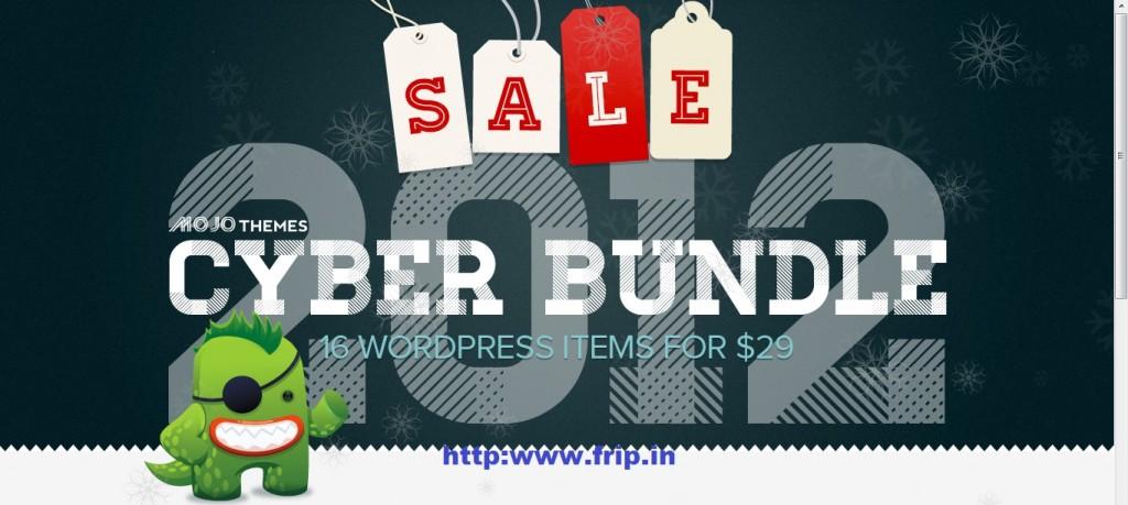 mojotheme black friday cyber bundle 2012