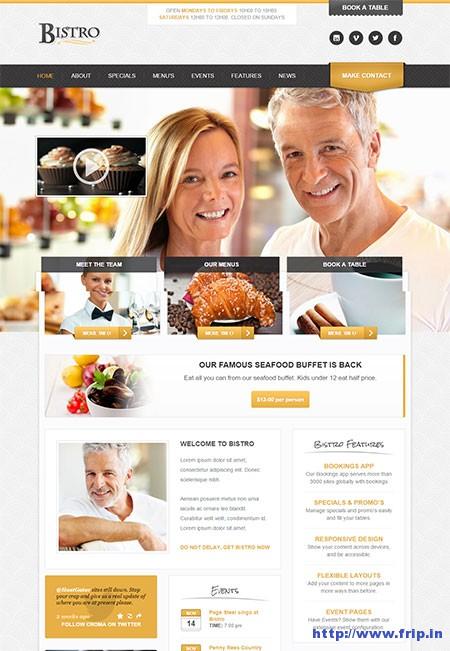 Bistro-Responsive-Foodie-Theme