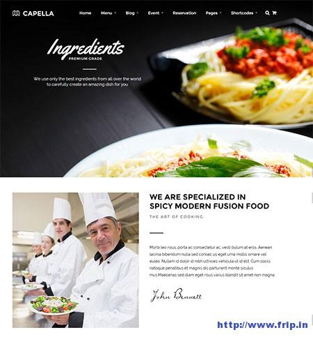 Capella-Parallax-Restaurant-&-CafeTheme