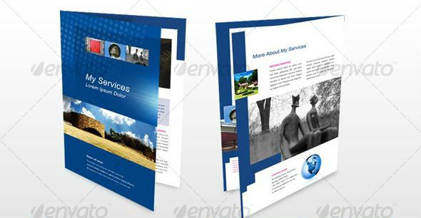 4 A4 Page Brochure