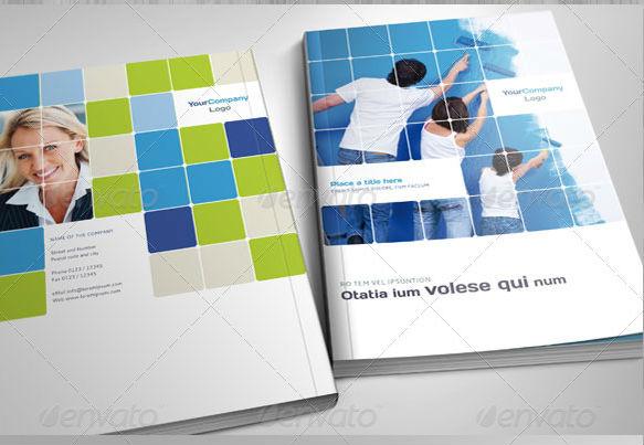 A4 Professional Corporate Brochure
