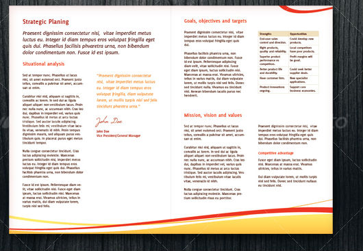 Half Hold Corporate Business Brochure