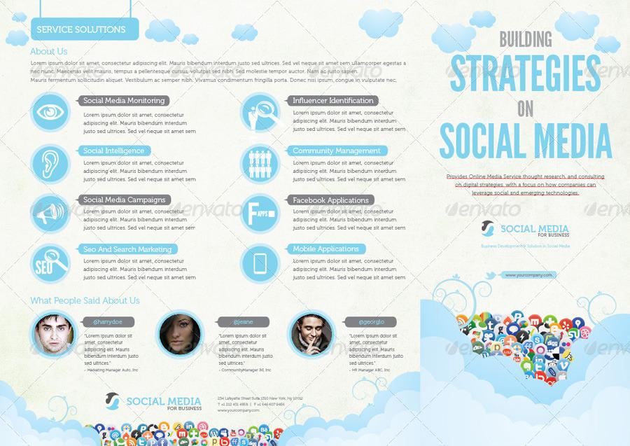 Social Media Print Template Packages (Vol. 2)