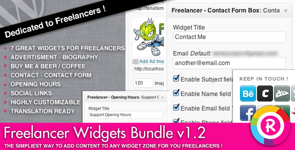 Freelancer Widget Bundle