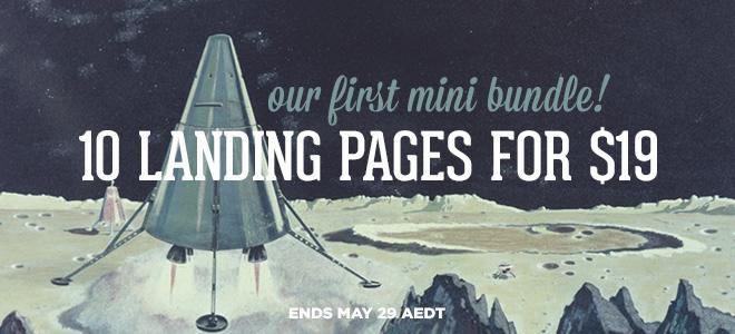 envato mini bundle landing-page