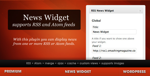 news wordpress widget