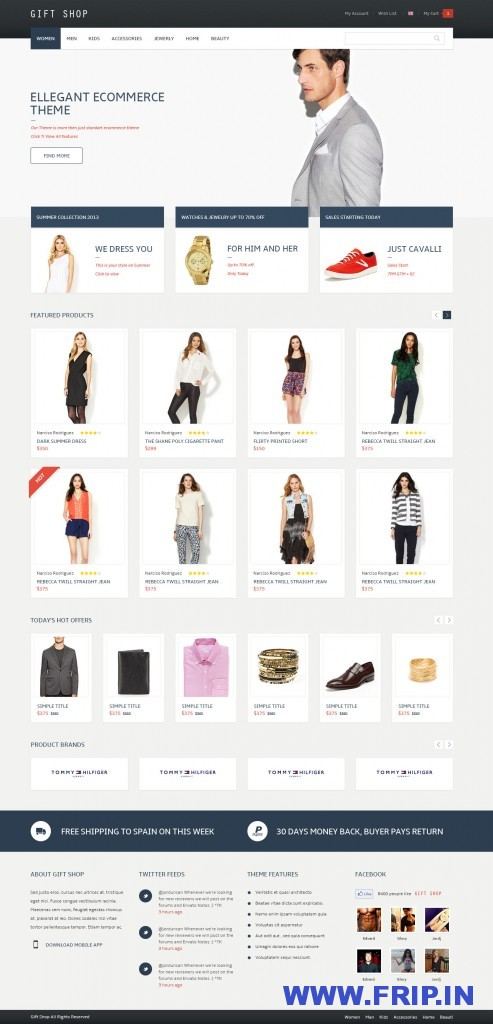 Gift Shop For eCommerce WooCommerce