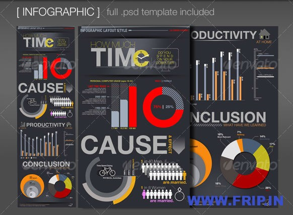 Infographic Elements and Template