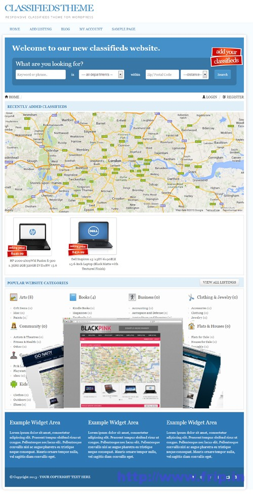 Responsive-Classifieds-Themes