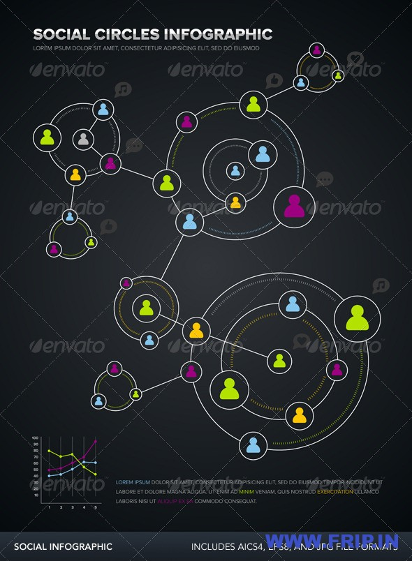 Social Circle Infographic