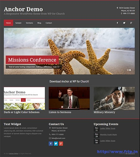 Anchor-Church-WordPress-Theme