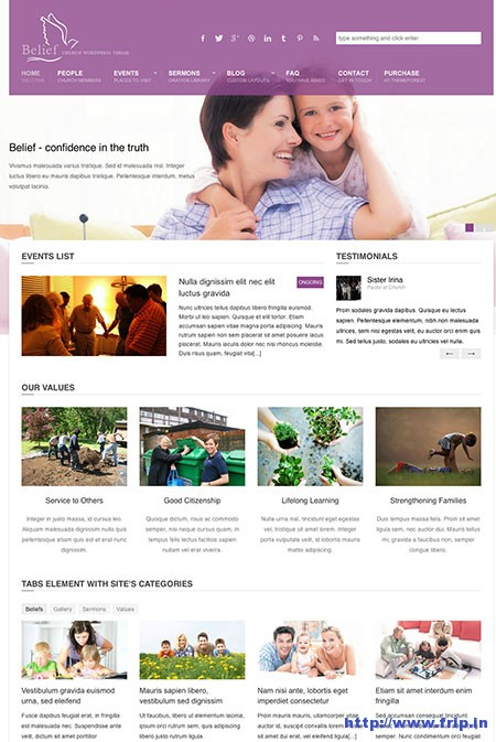 Belief-Church-WordPress-Theme