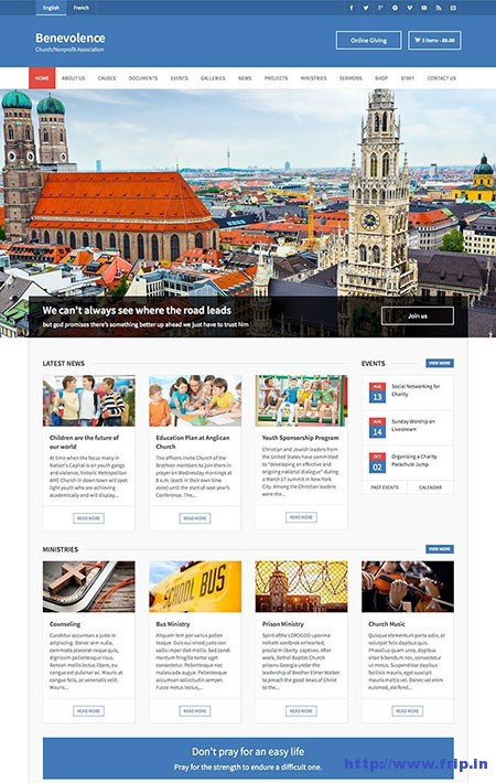 Benevolence-Church-WordPress-Theme