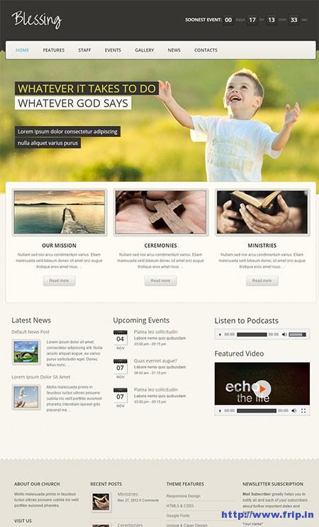 Blessing-Responsive-WordPress-Theme