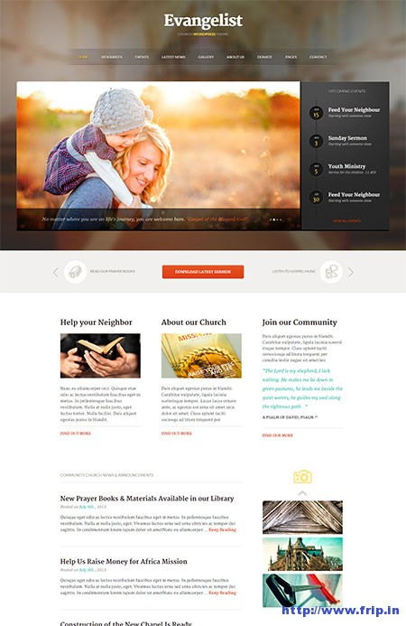 Evangelist-Church-WordPress-Theme