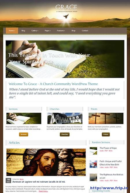 Grace-Church-WordPress-Theme