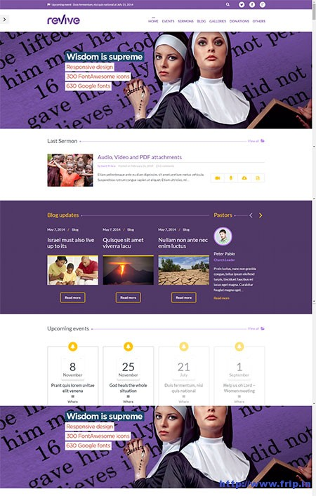 Revive-Events-&-Donations-WordPress-Theme
