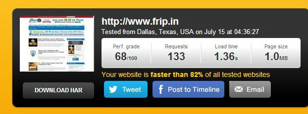maxcdn speed test and coupon code