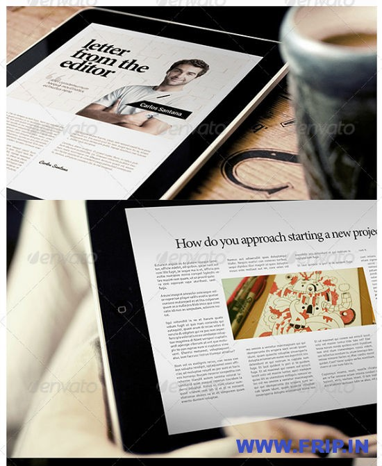 DesignMag iPad Magazine Template