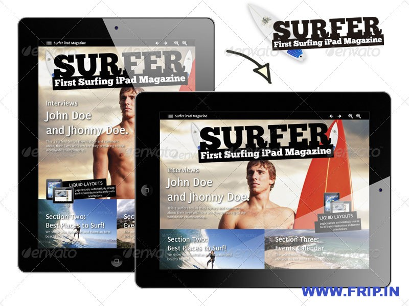 Exclusive Sports iPad Magazine