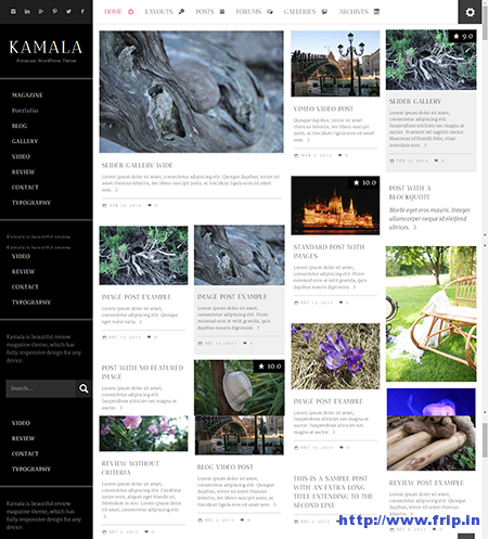 Kamala Magazine Review Theme