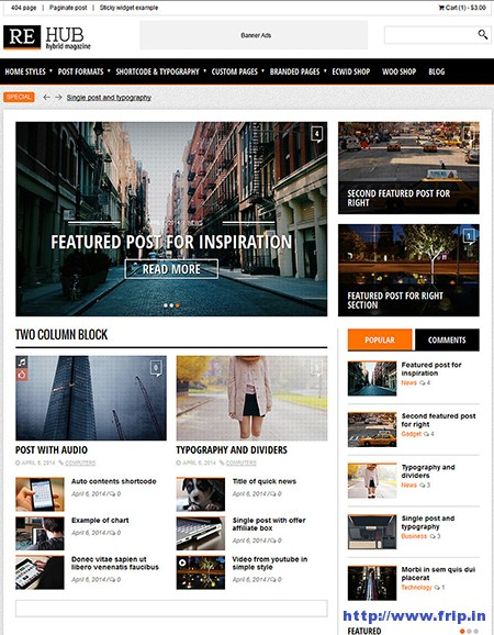 REHub Review WordPress Theme