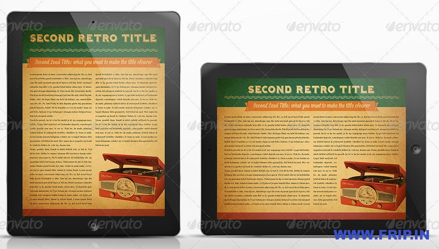 The Retro MGZ For Tablet