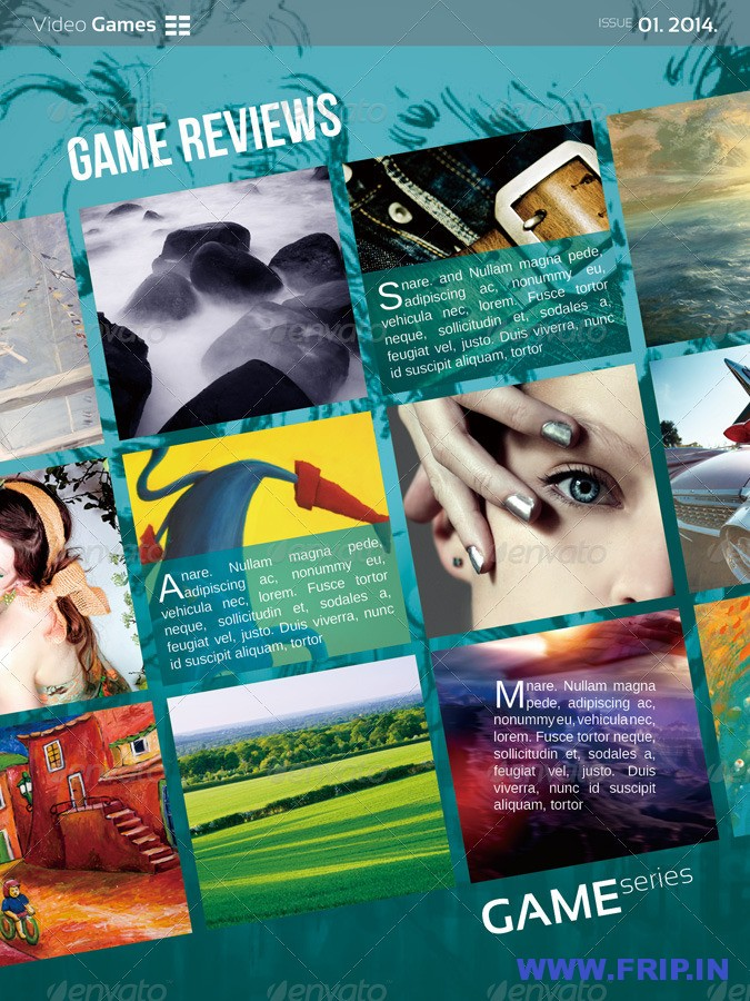 VideoGames Ipad Magazine