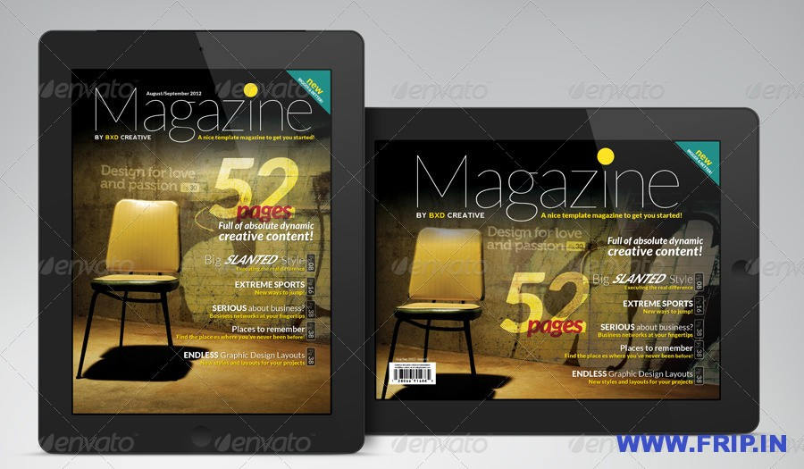 iPadTablet Magazine InDesign Layout 02