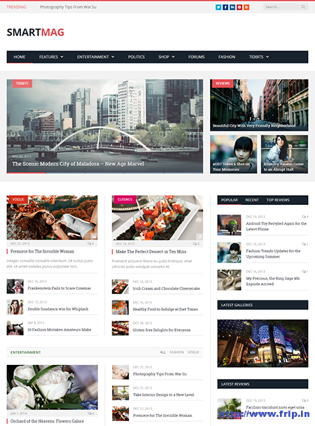 smartmag wordpress magazine theme