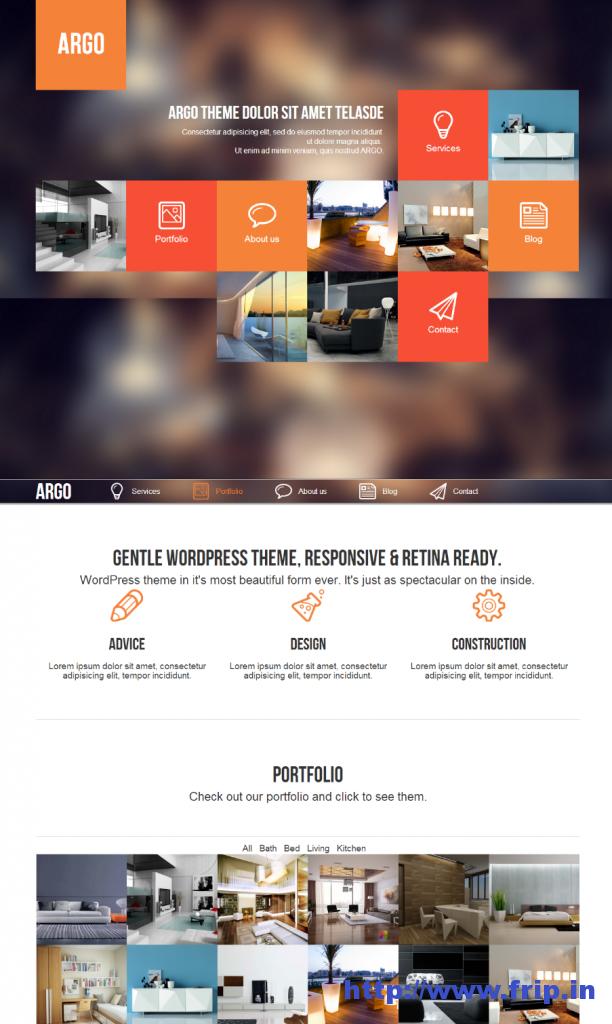 Argo Modern UI WordPress Theme