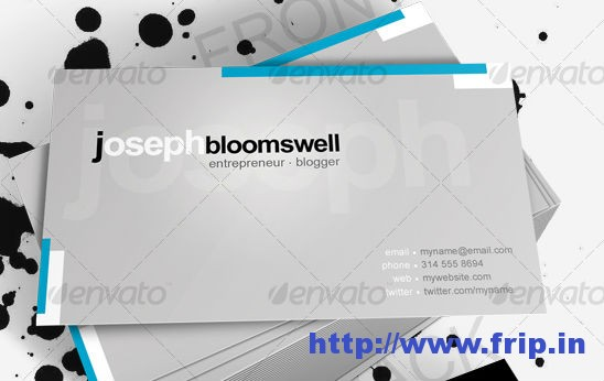 Blog Me Business Card