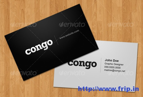 Congo Business Card