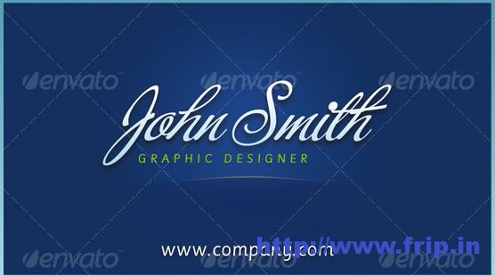 JS Business Cards