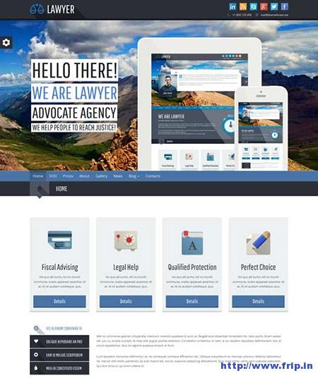Lawyer-Bootstrap-WordPress-Theme