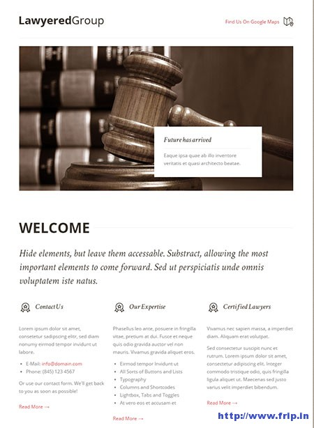 Lawyered-Group-One-Page-Responsive-Theme
