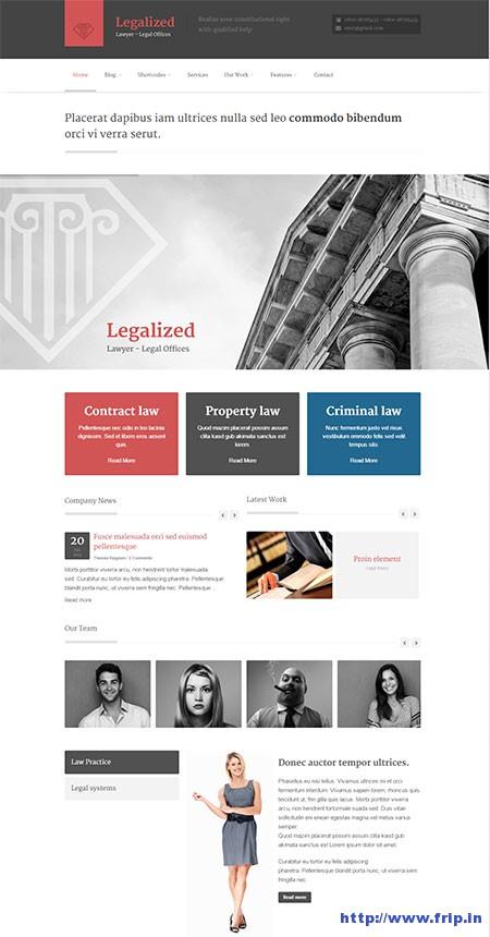 Legalized-WordPress-Theme
