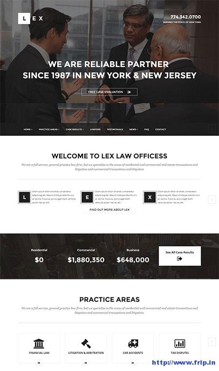 Lex-Lawyers-&-Attorneys-WordPress-Theme