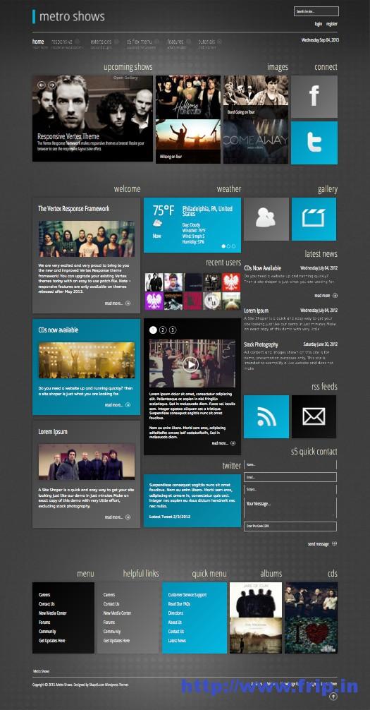 Metro-Shows-WordPress-Metro-Style-Theme