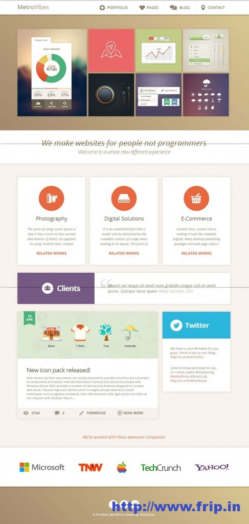 Metro Vibes WordPress Theme