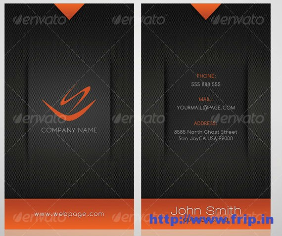 Modern Color Business Card