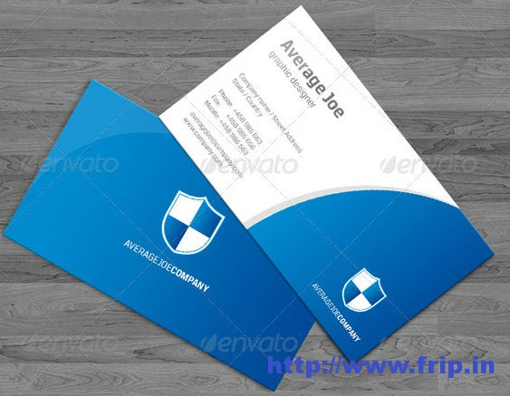 Shield Business Card