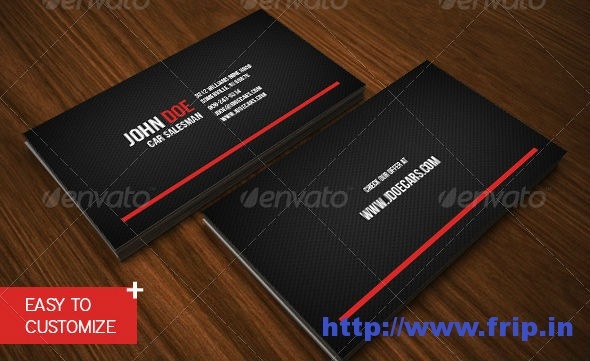 Clean Carbon Business Card