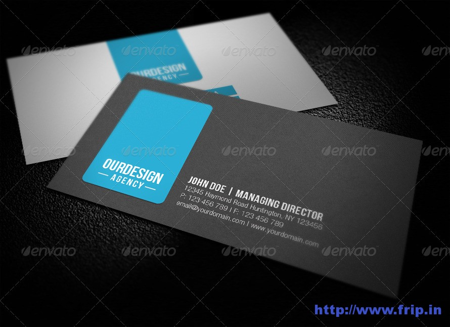 Clean Professional Business Card