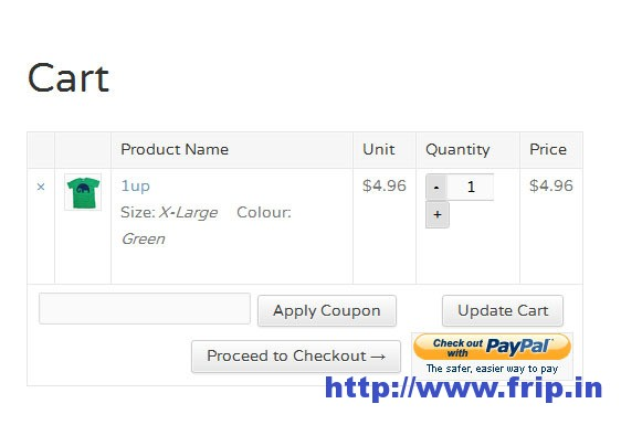 PayPal Express Payment Gateway