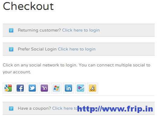 WooCommerce Social Login And Checkout Plugin